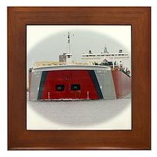 Edwin H. Gott Framed Tile