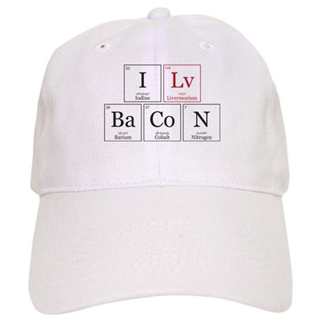 I Lv BaCoN [I Love Bacon] Cap