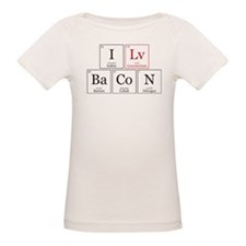 I Lv BaCoN [I Love Bacon] Tee