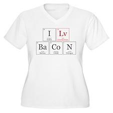 I Lv BaCoN [I Love Bacon] T-Shirt