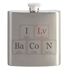 I Lv BaCoN [I Love Bacon] Flask