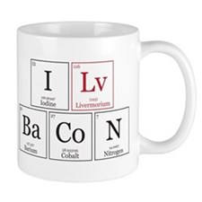 I Lv BaCoN [I Love Bacon] Mug