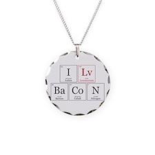 I Lv BaCoN [I Love Bacon] Necklace