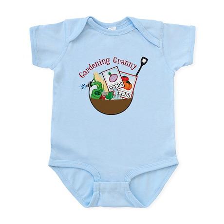 Gardening Granny Infant Bodysuit