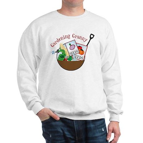 Gardening Granny Sweatshirt