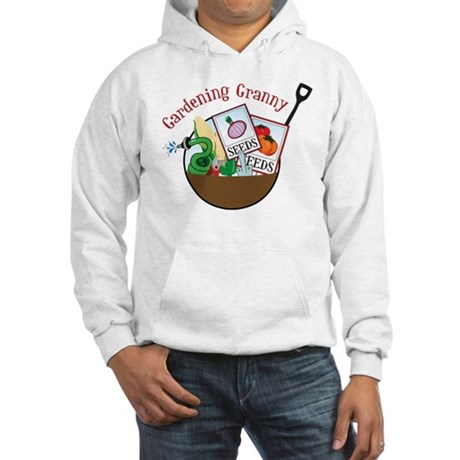 Gardening Granny Hooded Sweatshirt