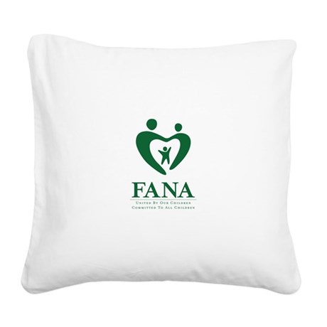Families of FANA Square Canvas Pillow