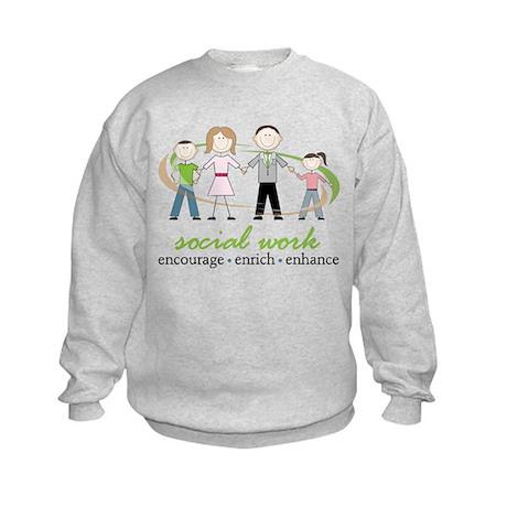 Social Work Kids Sweatshirt