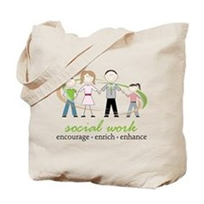 Social Work Tote Bag