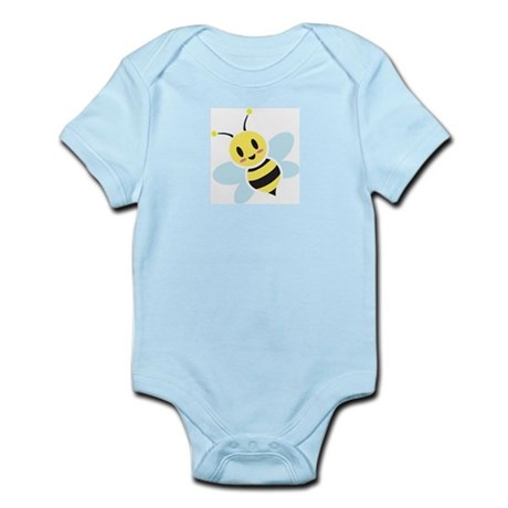 Smiling Bee Infant Bodysuit