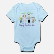 Helping Families Daily Infant Bodysuit