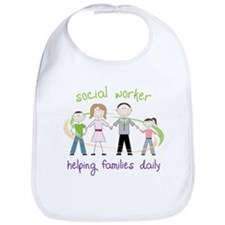 Helping Families Daily Bib
