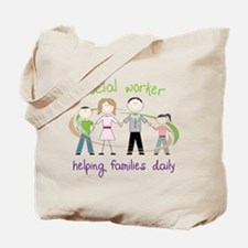 Helping Families Daily Tote Bag