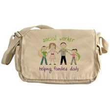 Helping Families Daily Messenger Bag