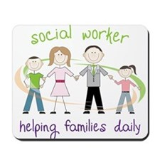 Helping Families Daily Mousepad