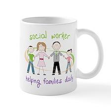 Helping Families Daily Mug