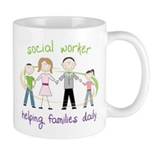 Helping Families Daily Mug