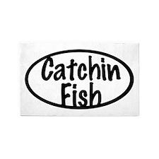 Catchin Fish 3'x5' Area Rug
