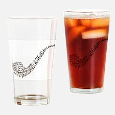 Sherlocks Pipe Drinking Glass