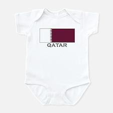 Qatar Flag Stuff Infant Bodysuit