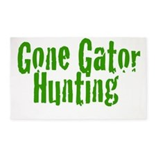 Gone Gator Hunting 3'x5' Area Rug