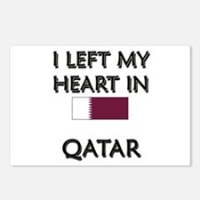 I Left My Heart In Qatar Postcards (Package of 8)