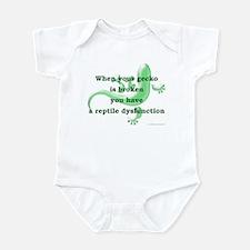 Reptile Dysfunction Infant Bodysuit