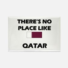 There Is No Place Like Qatar Rectangle Magnet