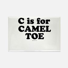 Cute Camel toe Rectangle Magnet