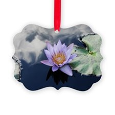 Sea of the Sky Lily Picture Ornament