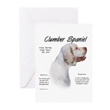 Clumber Spaniel Greeting Cards (Pk of 10)