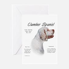Clumber Spaniel Greeting Cards (Pk of 10)