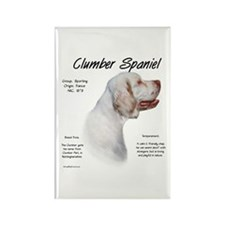 Clumber Spaniel Rectangle Magnet
