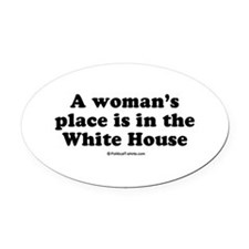 Cool Bill clinton Oval Car Magnet