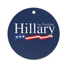 Cute First lady Ornament (Round)