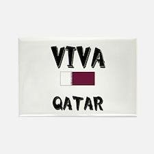 Viva Qatar Rectangle Magnet