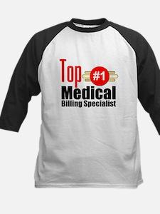 Top Medical Billing Specialist Kids Baseball Jerse