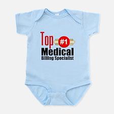 Top Medical Billing Specialist Infant Bodysuit
