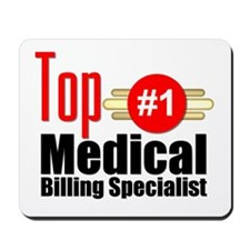 Top Medical Billing Specialist Mousepad