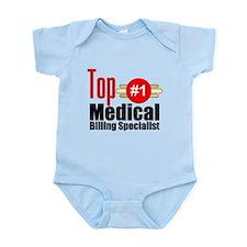 Top Medical Billing Specialist.png Infant Bodysuit