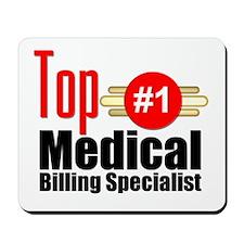 Top Medical Billing Specialist.png Mousepad