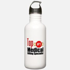 Top Medical Billing Specialist.png Water Bottle
