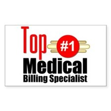 Top Medical Billing Specialist.png Decal