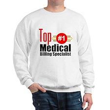 Top Medical Billing Specialist.png Sweatshirt