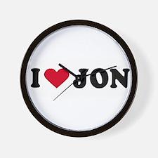 Funny Jon Wall Clock