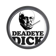 Unique Don't be a dick Wall Clock