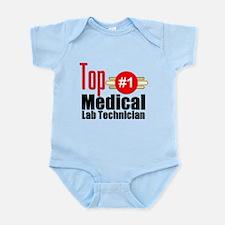 Top Medical Lab Technician Infant Bodysuit