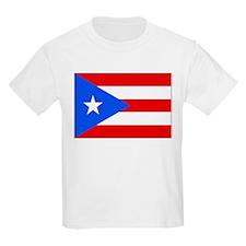 Flag of Puerto Rico Kids T-Shirt
