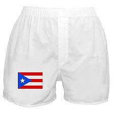 Flag of Puerto Rico Boxer Shorts