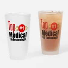 Top Medical Lab Technologist Drinking Glass